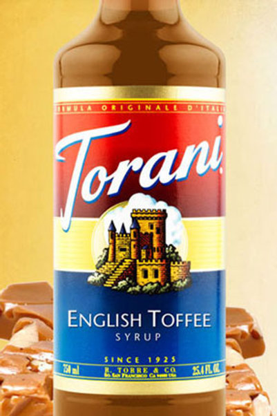 English Toffee Syrup