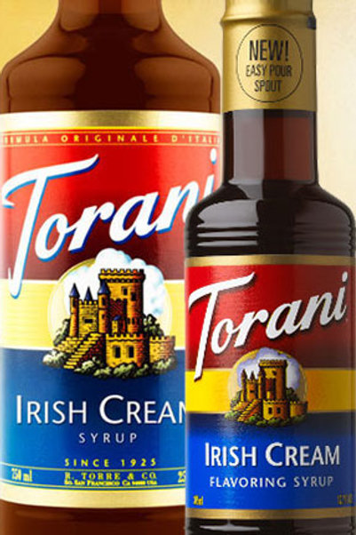 Irish Cream Syrup