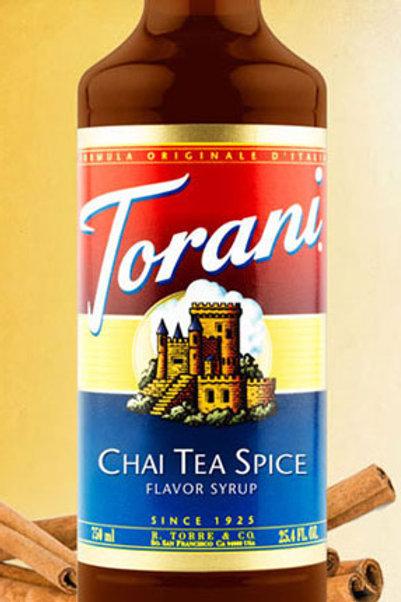 Chai Tea Spice Syrup