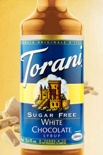 Sugar Free White Chocolate Syrup