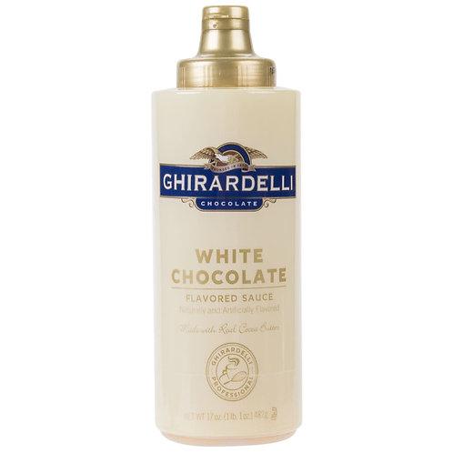 White Flavored Chocolate Sauce