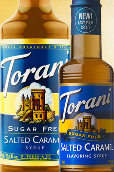 Sugar Free Salted Caramel Syrup
