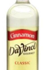 DaVinci Gourmet Classic Syrup - Cinnamon, Case of 6/Plastic