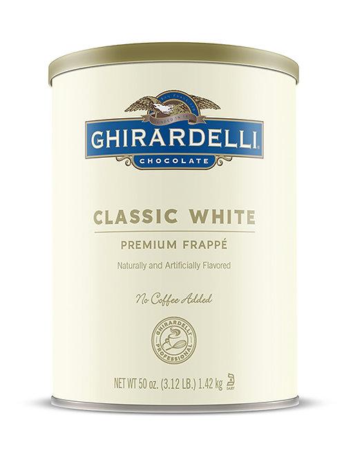 Classic White Frappè Case, 6 ct./ 3.12 lbs. ea.