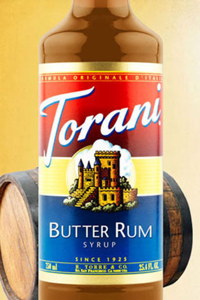 Butter Rum Syrup