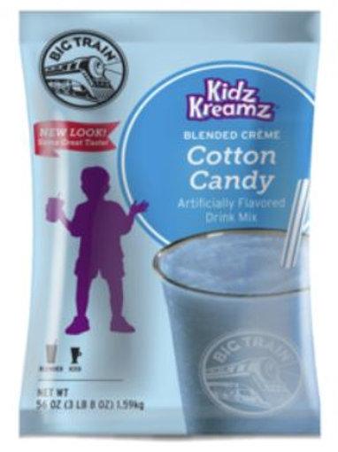 Big Train Kidz Kreamz-Cotton Candy, Single Serving
