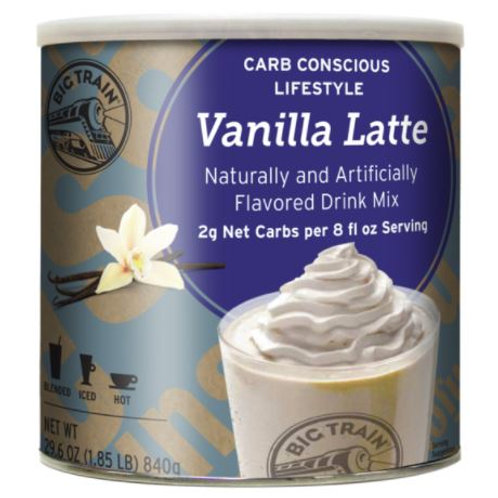 Big Train® Carb Conscious Mix - Vanilla Latte Blended Ice Coffee