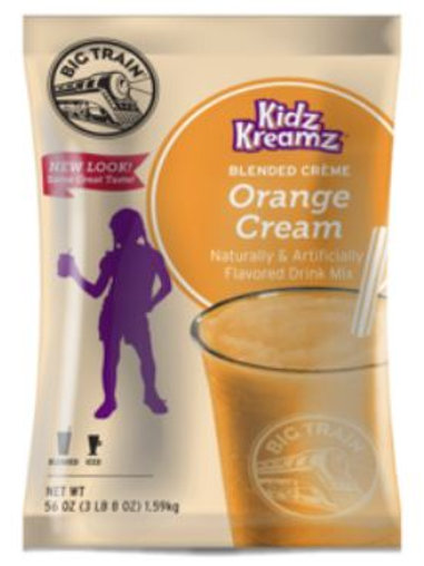 Train Kidz Kreamz-Orange Cream