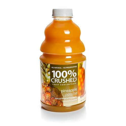 Pineapple Paradise 100% Crushed Fruit Smootie