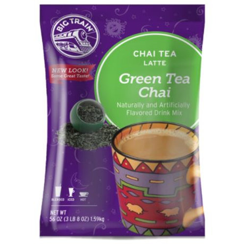 Big Train Chai Tea Mix - Green Tea Chai, 3.5 lbs.