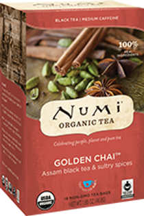 Golden Chai-Spiced Assam Black Tea