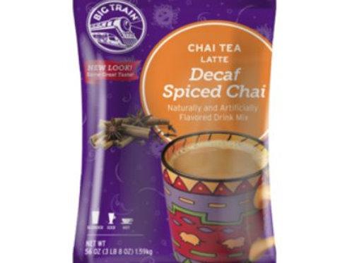 Big Train Chai Tea Mix - Decaf Spiced Chai, 3.5 lbs.