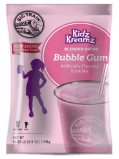 Big Train Kidz Kreamz-Bubble Gum, Single Serving