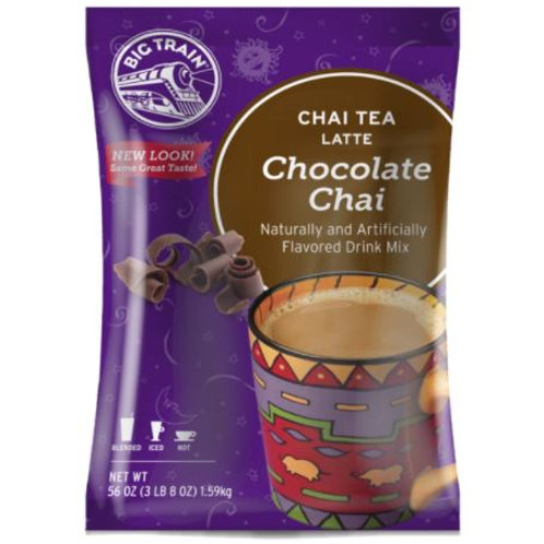 Big Train Chai Tea Mix - Chocolate Chai, 3.5 lbs.