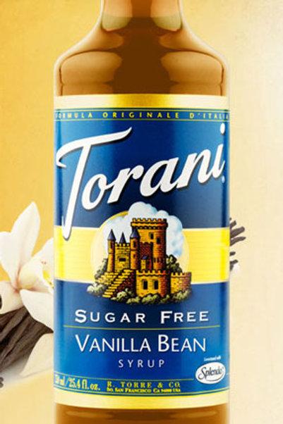 Sugar Free Vanilla Bean Syrup