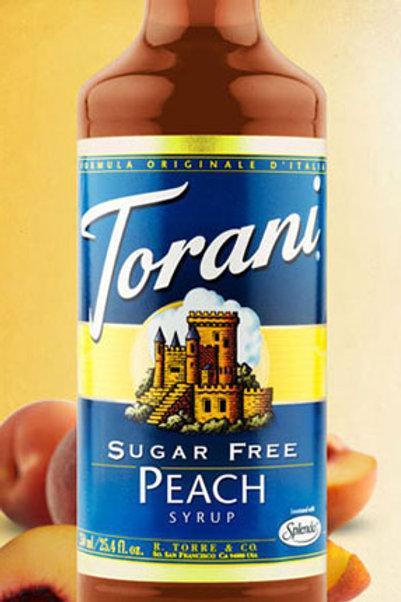 Sugar Free Peach Syrup
