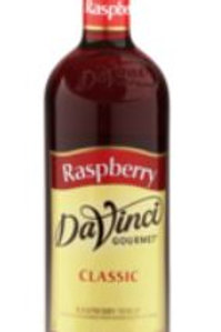 DaVanci Gourmet Classic Syrups-Raspberry, Case of 12/Glass
