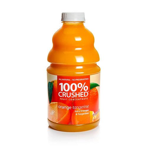 Orange Tangerine 100% Crushed Fruit Smoothie