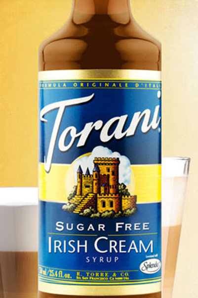 Sugar Free Irish Cream Syrup