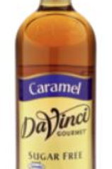 DaVinci Gourmet Sugar Free Syrup - Caramel, Case of 6/Plastic