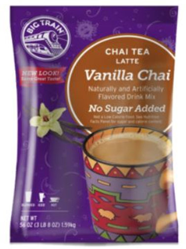 Big Train Chai Tea Mix - No Sugar Added Vanilla Chai