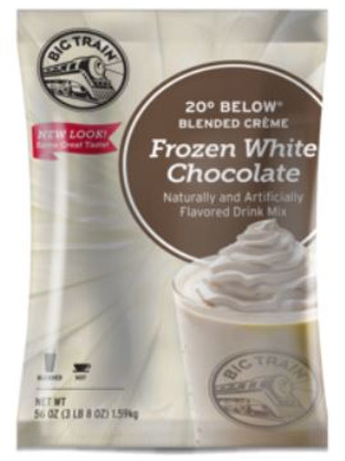 Big Train 20 Below Frozen Hot Chocolate Mix-White Chocolate