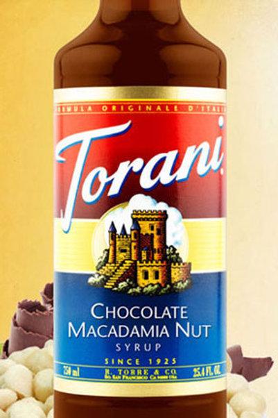 Chocolate Macadamia Nute Syrup