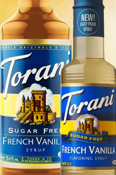Sugar Free French Vanilla Syrup
