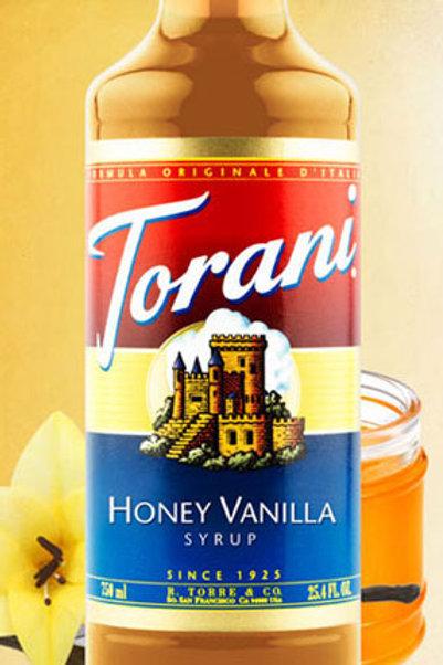 Honey Vanilla Syrup
