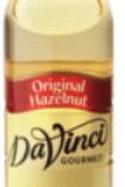 DaVinci Gourmet Classic Syrup-Hazelnut (Original), Case of 6/Plastic