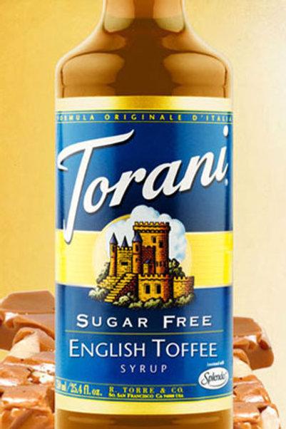 Sugar Free English Toffee Syrup