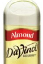 DaVinci Gourmet Classic Syrup - Almond, Case for 6/Plastic
