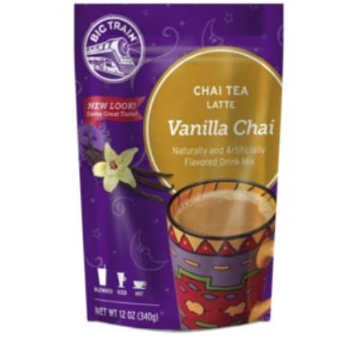 Big Train Chai Tea Mix - Vanilla Chai, 12 oz.