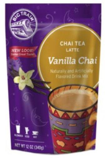 Big Train Chai Tea Mix - Vanilla Chai, Single Serving