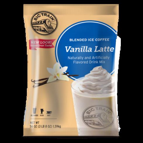 Big Train Blended Iced Coffee-Vanilla Latte, 5 ct. / 3.5 lbs. ea.