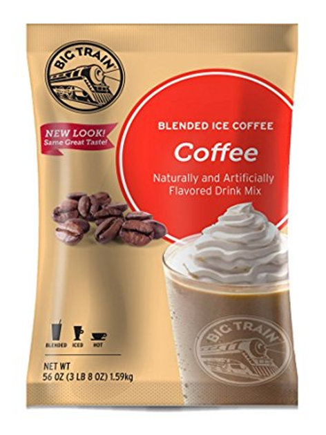 Big Train Blended Iced Coffee-Coffee, Case of 5 ct. / 3.5 lbs. ea.