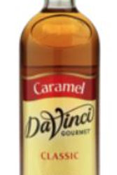 DaVinci Gourmet Classic Syrup - Caramel, Case of 6/Plastic