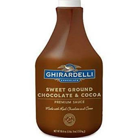 Sweet Ground Chocolate & Cocoa Sauce