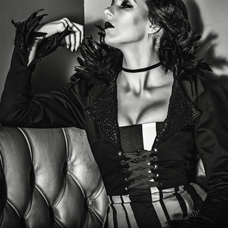 Model: Perse Fanny Photographer: Red Tea Photography HMUA: Amanda Fay Design: Trapped in Time Design Reimagined Batman Villain, The Penguin