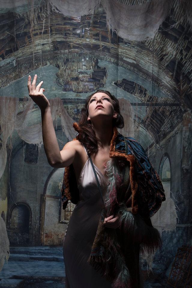New York City Burlesque Dancer