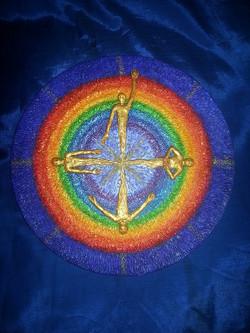 Galaxy Regenbogen Lichtwesen