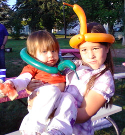 Modeling the balloon hats