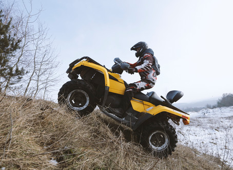 Off-road Safety. Every rider's worst nightmare.