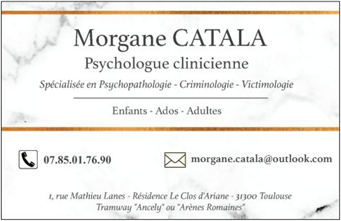 Morgane Catala psychologue clinicienne