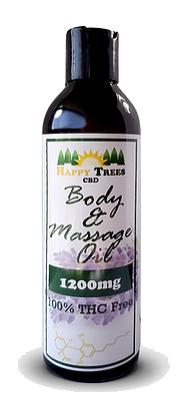 Body & Massage Oil - 1200mg