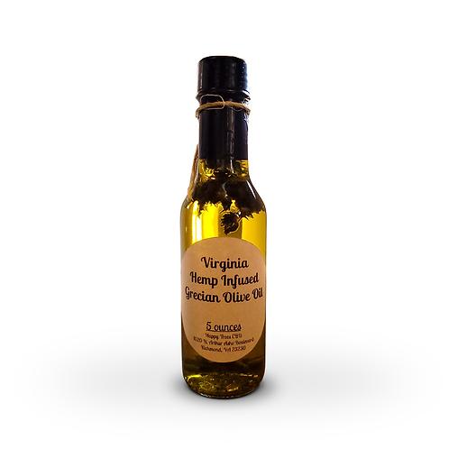 Virginia Hemp Infused Grecian Olive Oil