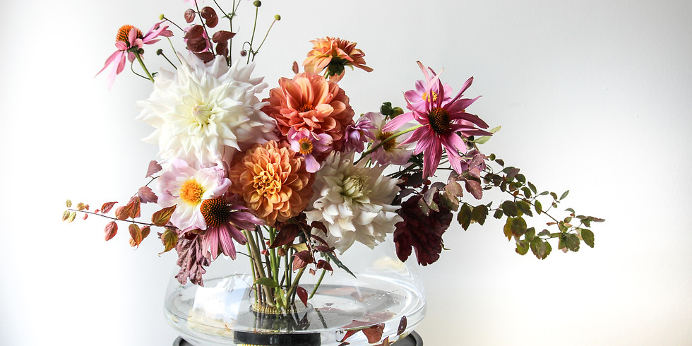 Sommerblumenstrauß binden 17.07.2021