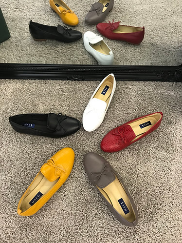 MARCH Leather Loafers