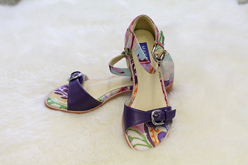 YVONNE Leather Sandals