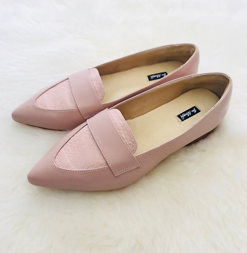 ALISHA Leather Flat